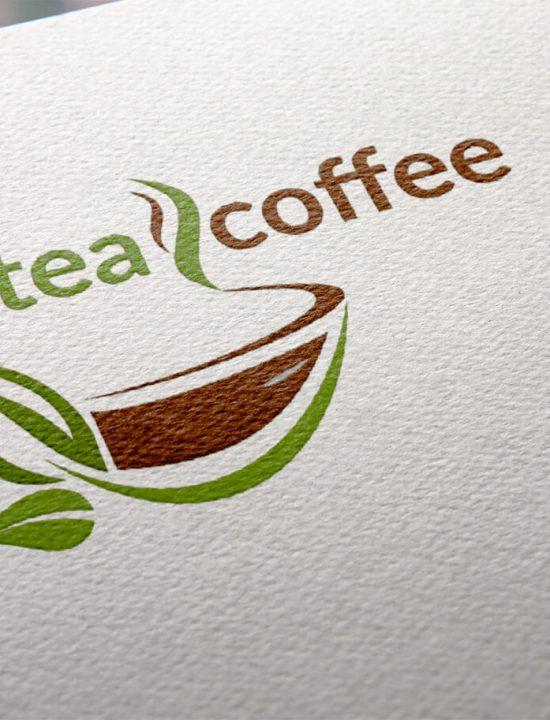 Логотип интернет-магазина teacoffee.by. Кофе, чай, кофейные напитки, сладости и готовые подарочные наборы.