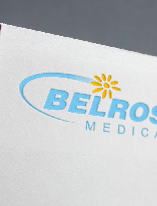 Логотип для компании «Белросмедика».