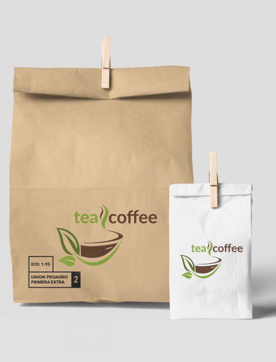 Упаковка для интернет-магазина teacoffee.by. Кофе, чай, кофейные напитки, сладости и готовые подарочные наборы. Дизайн.