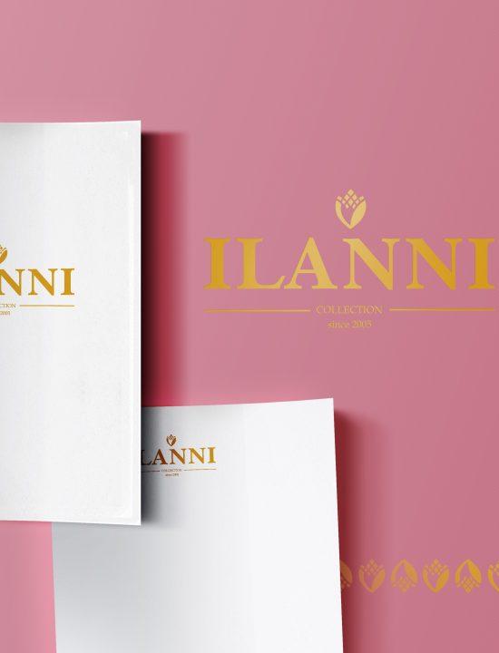 Логотип для коллекции постельного белья «ILANNI».